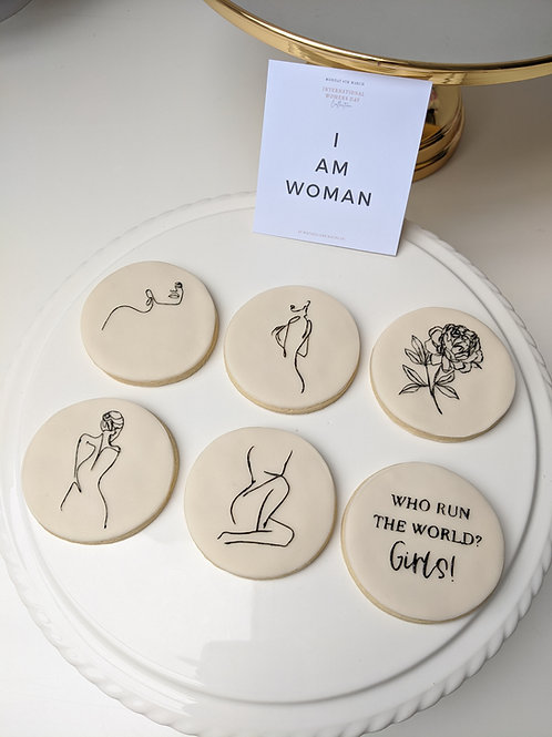I AM WOMAN - Female Form Cookie Set