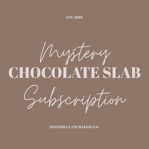 Chocolate Slab Mail Subscription