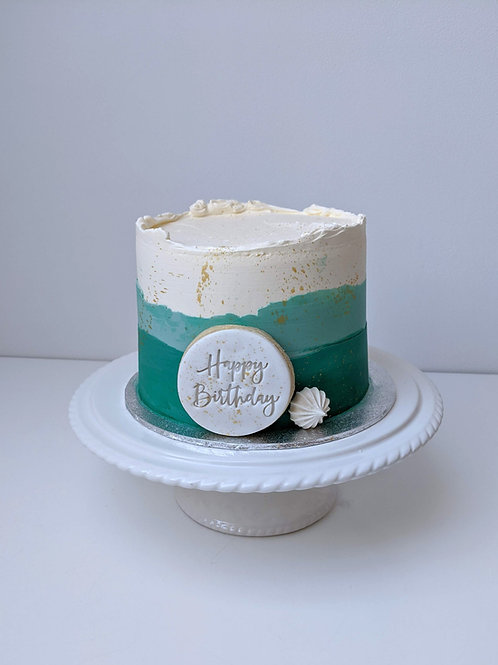Customise the Colour - Two Tone Cake