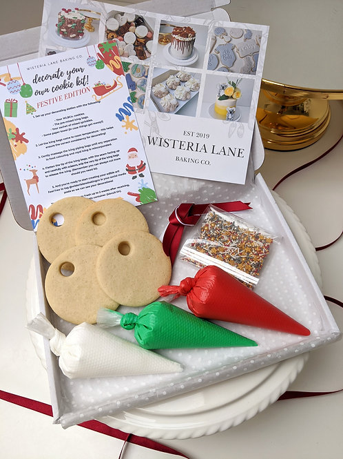 D.I.Y Cookie Set - Festive Edition