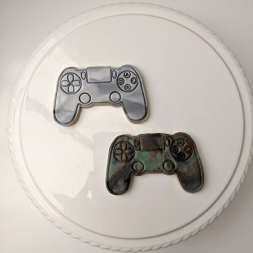 Gaming Controller Cookie Set