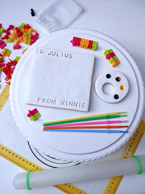 """Paper & Palette"" Cookie Painting Set"