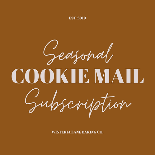 Cookie Mail Subscription - Seasonal Themed Set