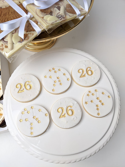 Zodiac Constellation Sign Cookies