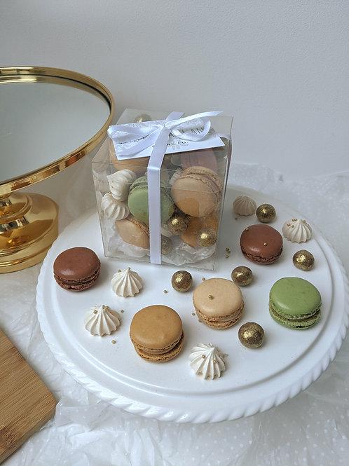 Macaron & Mini Meringue Gift Box