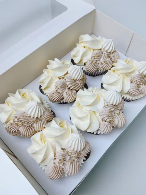 Meringue Kissed Cupcakes
