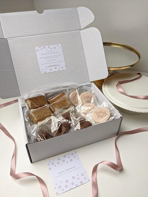 Celebratory Selection Box - Brownies/Cake+