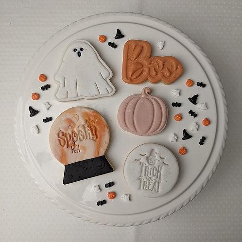 Halloween Cookie Set - Orange