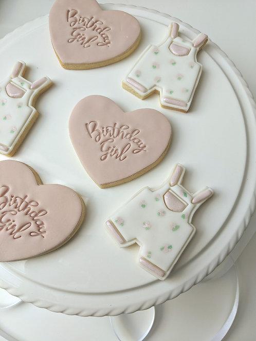 Dungaree Cookies Set