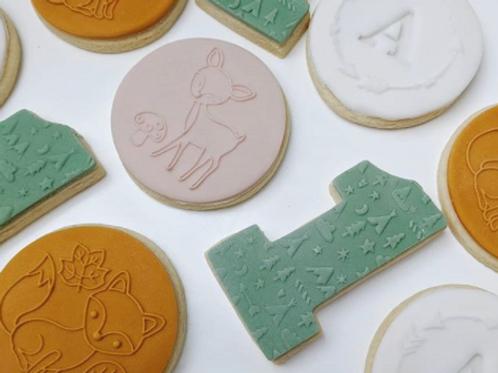 Woodland Theme Cookie Set (12PCS)