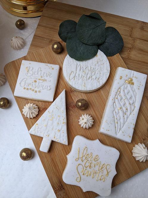 White & Gold Festive Gift Set