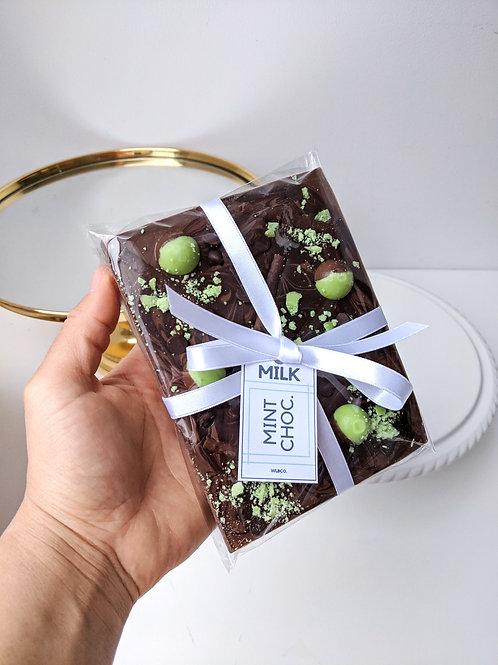 Mint Milk Chocolate Slab