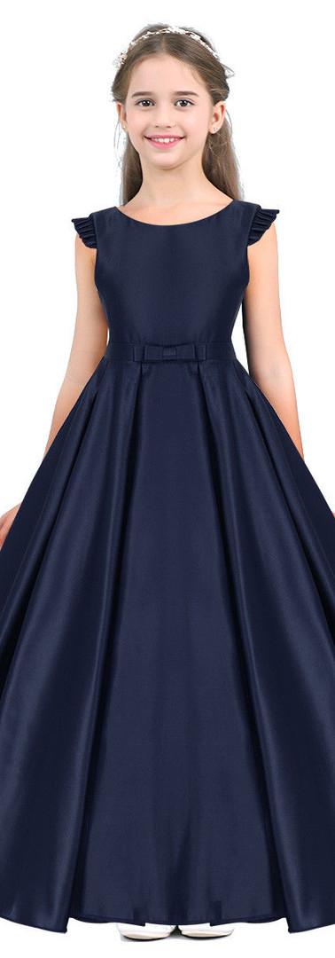 שמלת בת מצווה כחולה