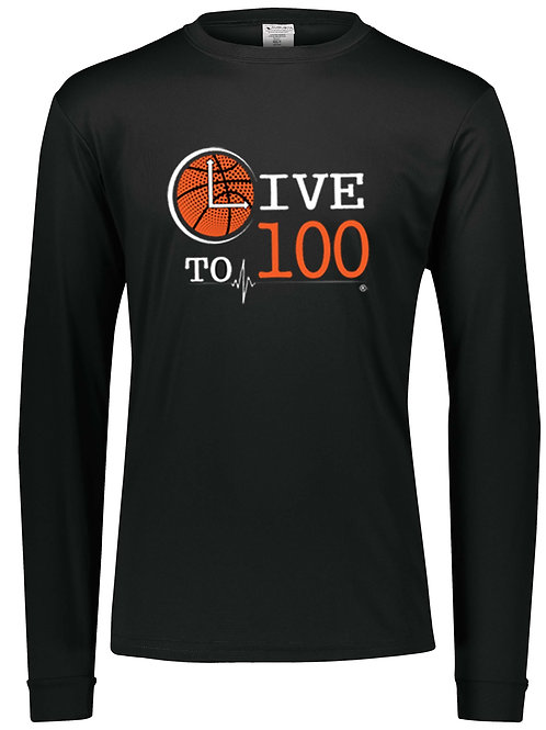 Live To 100 Baller Performance Long Sleeve