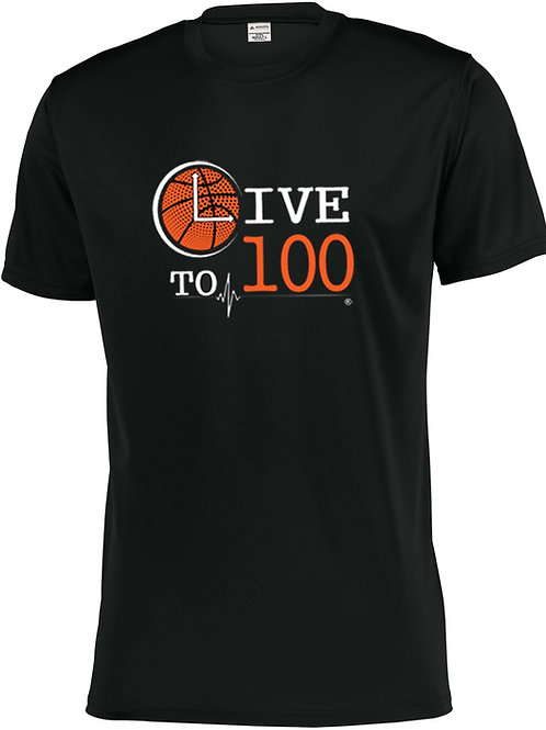 Live To 100 Rep Your Sport - Basketball