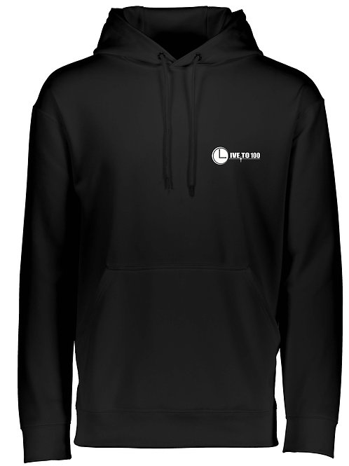 Live To 100 UNISEX WICKING PERFORMANCE HOODIE