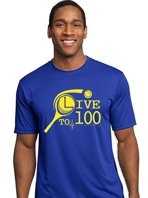 Live To 100 Rep Your Sport - Tennis