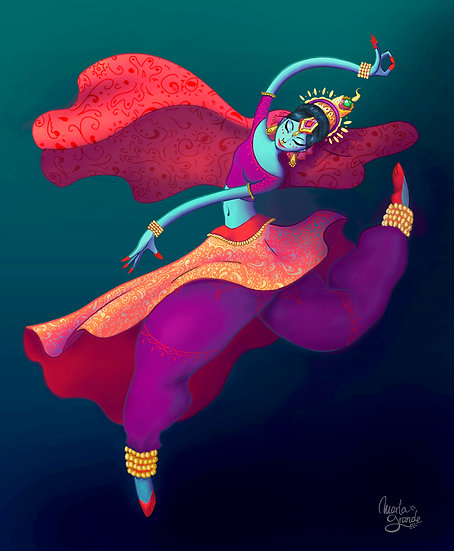 INDIAN DANCER - Marta Grande
