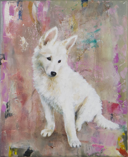 WHITE PUPPY - Lisa Braun