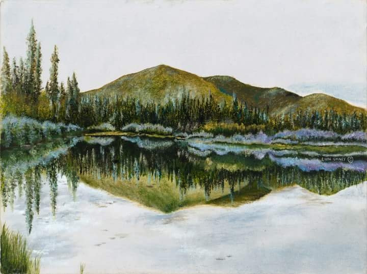 CLOUDS IN THE LAKE - Linda Kinney