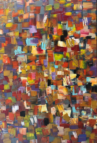 COLORFUL ABSTRACT #5 - Agnes Cavina