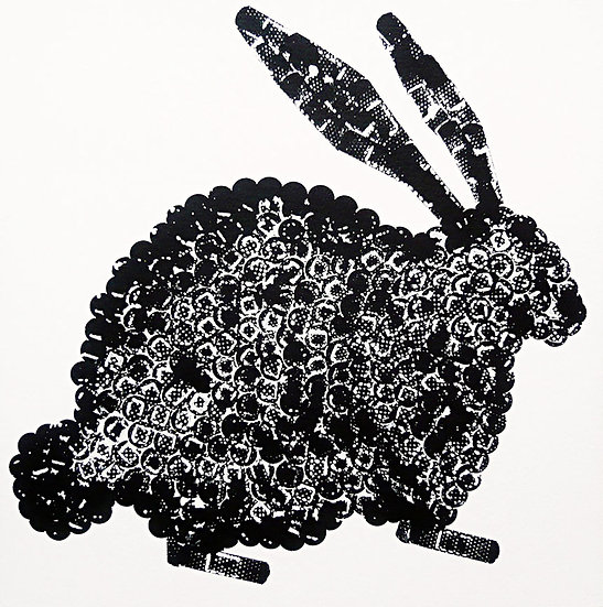 BUNNY (BLACK) - Lucy White