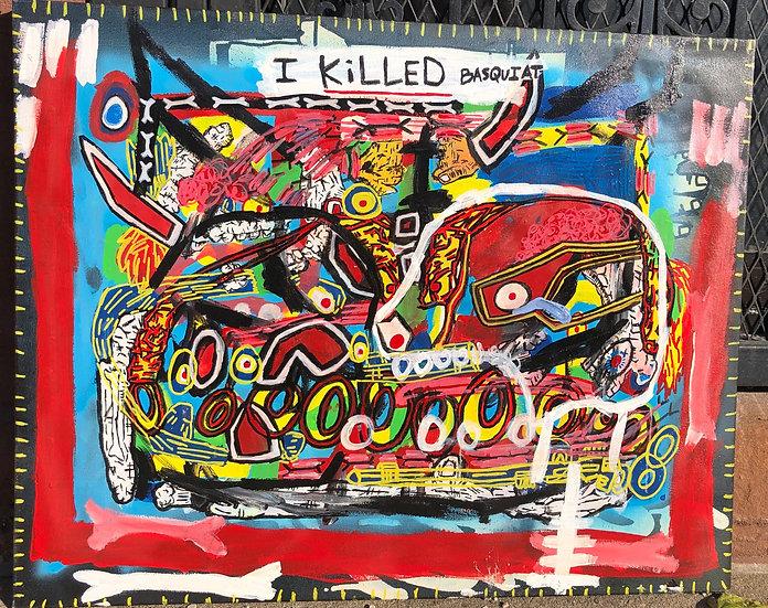 I KILLED BASQUIT - Mark Wilson