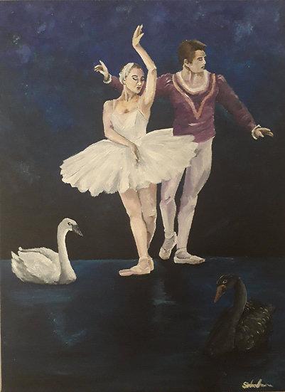 BALLET ON SWAN LAKE - Samantha Woodhouse