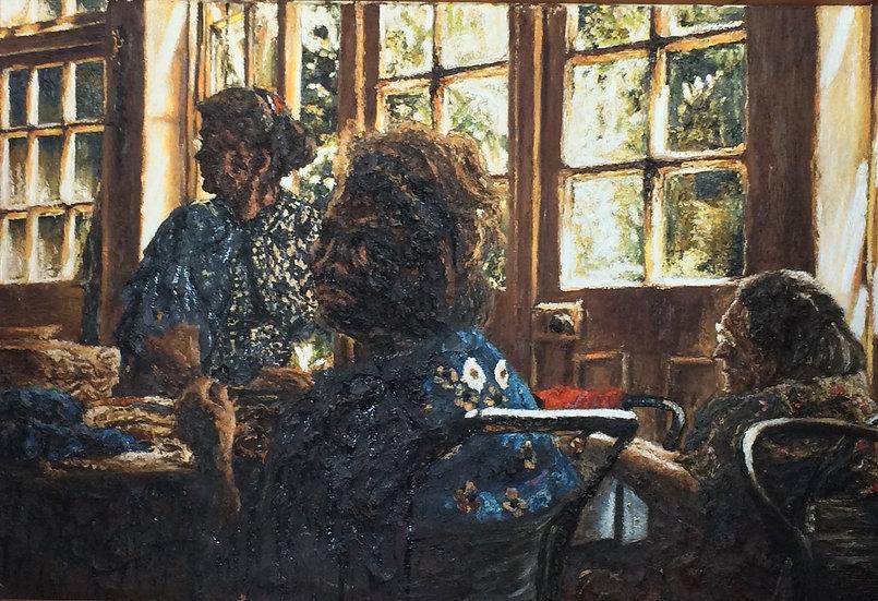 INTERIOR WITH WOMEN 2 - Dariusz Romanowski