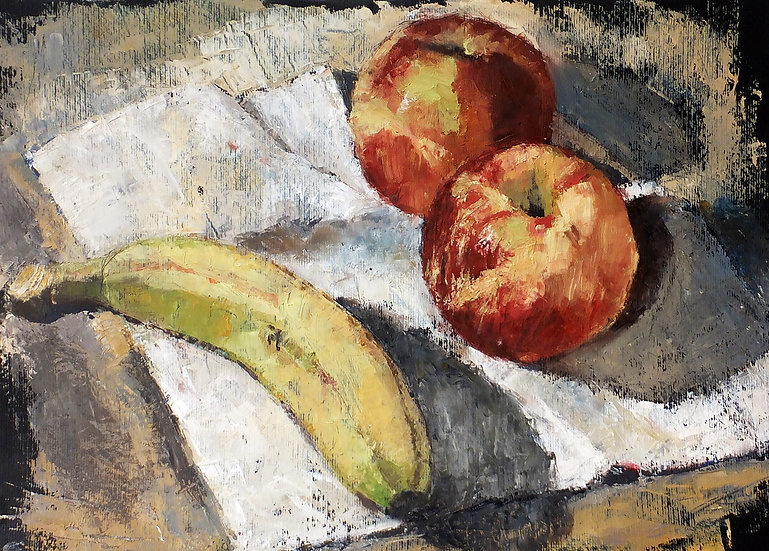 STILL LIFE WITH FRUIT 2 - Miguel Sopena