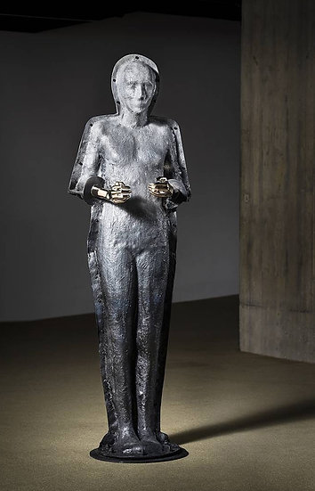 HANDS HOLDING THE VOID AFTER GIACOMETTI - Amin Tavakol
