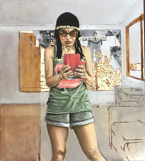 SELF-PORTRAIT AS CLEOPATRA IN SUNGLASSES - Natalie Papamichael