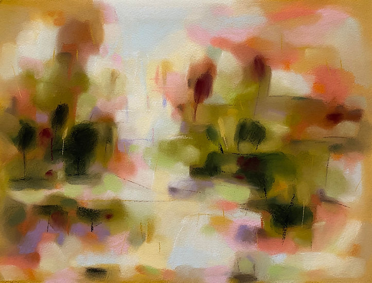 ALONG THE RIVERBANK 4 - Kristin Holm Dybvig