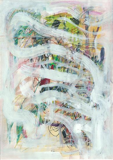 WHITE LOOPS - Meera Palia