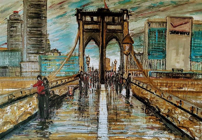 LOOK BEYOND THE BRIDGE - Darren Hall