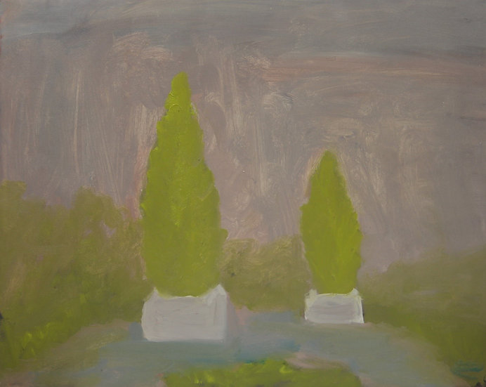 TWO PINES WITHOUT BACKGROUND - Eros Dibra