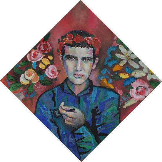BOY WITH A PIPE - Ana Flores