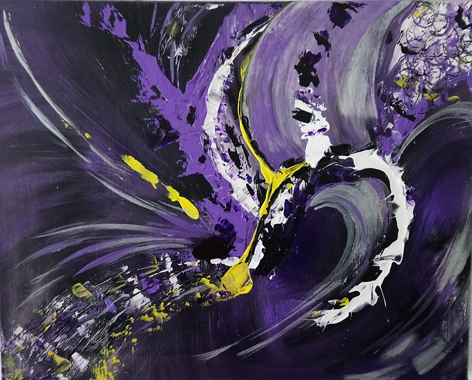 PURPLE VORTEX - Gloria Moore