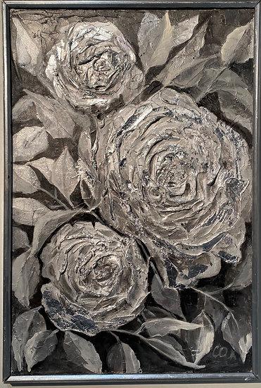 SILVER ROSES - Olga Sopiyeva