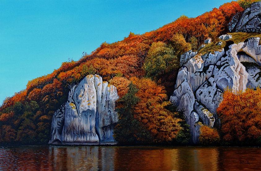 AUTUMN ON THE ROCKS - Dietrich Moravec
