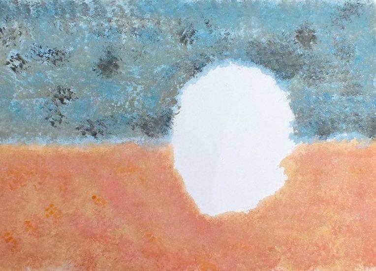ORANGE AND BLUE - Diego Armando Ramirez