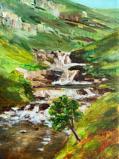 HIGHLAND WATERFALL - Michelle Martin-Law