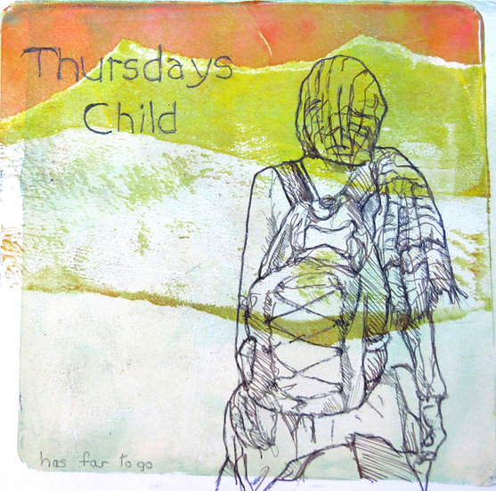 THURSDAYS CHILD - Claire Bartlett