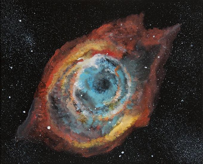 HELIX NEBULA (EYE OF GOD) - Lucy Oak