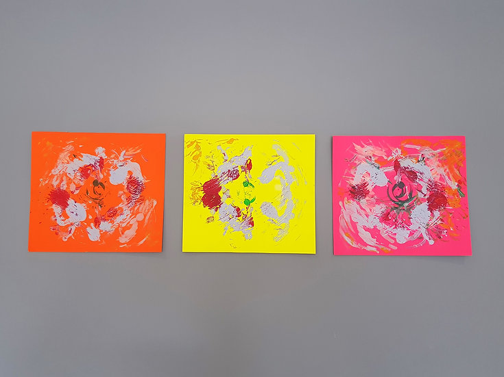 BLOOMING 1,2 & 3 - Joanne Nicolaou