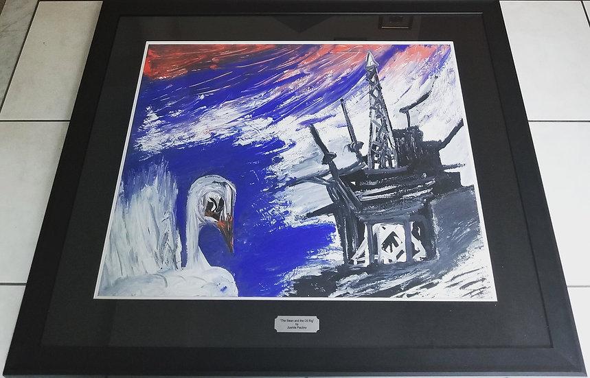 THE SWAN AND THE OIL RIG - Juanita Paulino