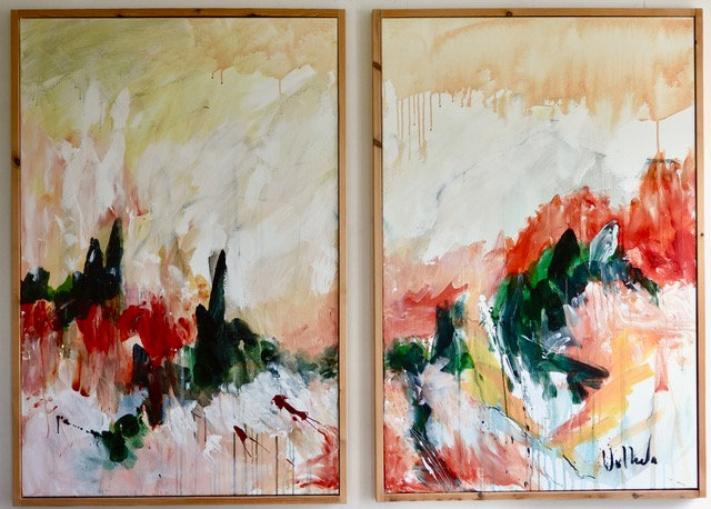 THE DIPTYCH LANDSCAPE - Jac Volbeda