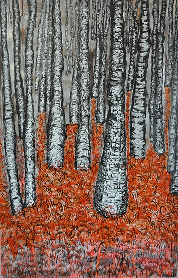 THE FOREST IN AUTUMN - Peretto Magali