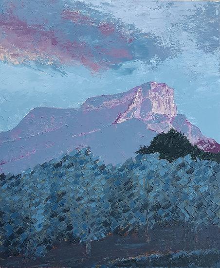 BLUE VINES UNDER GRANIER MOUNT - Anton Paul Patrick