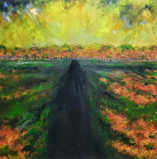 AN AUTUMN WALK - Darren Hall